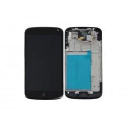 Ecran LCD + Tactile Complet LG E960 Nexus 4 Noir