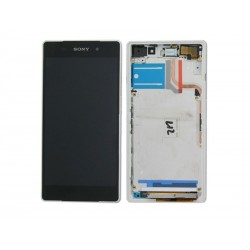 Ecran Tactile + LCD Complet Sony Xperia Z2 Blanc