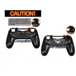 Coque Manette Playstation 4 - Carbon Fiber