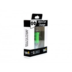 Micro Chargeur Voiture Vert