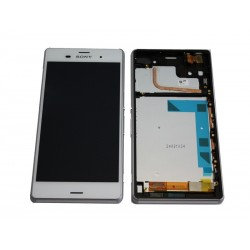 Ecran Tactile + LCD Complet Sony Xperia Z3 Blanc