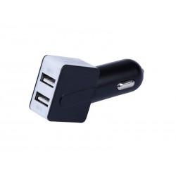 Chargeur voiture USBx2 Noir