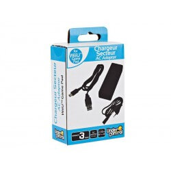Adaptateur Secteur Gamepad Noir Wii U