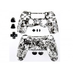 Coque Manette Playstation 4 - Skull Grave Black