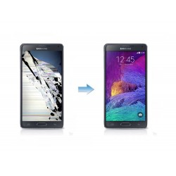 Changement Ecran LCD + Tactile Complet Samsung Galaxy Note 4