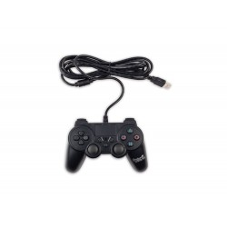 Manette filaire PS4 noire