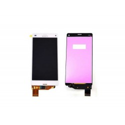 Ecran Tactile + LCD Complet Sony Xperia Z3 Compact Blanc