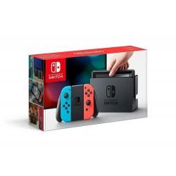 Console Nintendo Switch Rouge / Bleue Néon Neuve