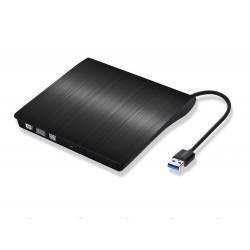 Lecteur DVD Externe USB 3.0 Graveur FJOY Ultra Slim