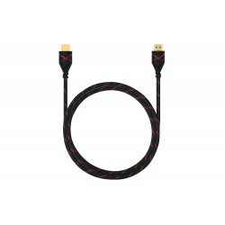 Câble HDMI 1.4 4K Nylon Tressé 1,80 mètres