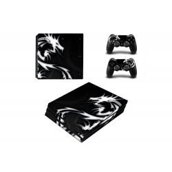 Sticker Console PS4 Pro - Dragon