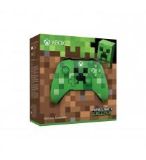 Manette sans fil Xbox One Edition Limitée - Minecraft Creeper