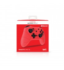 Manette pro Rouge Sans fil Compatible Switch