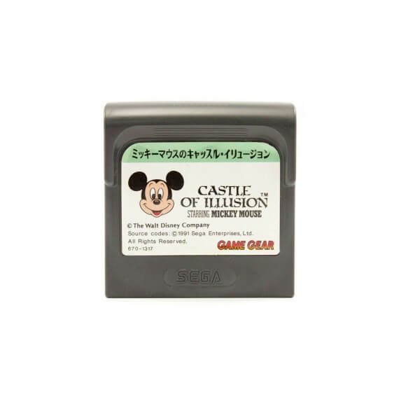 Castle of Illusion Jap Occasion [ Game Gear ]
