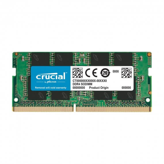 Barrette RAM 8Go Crucial DDR4 SODIM