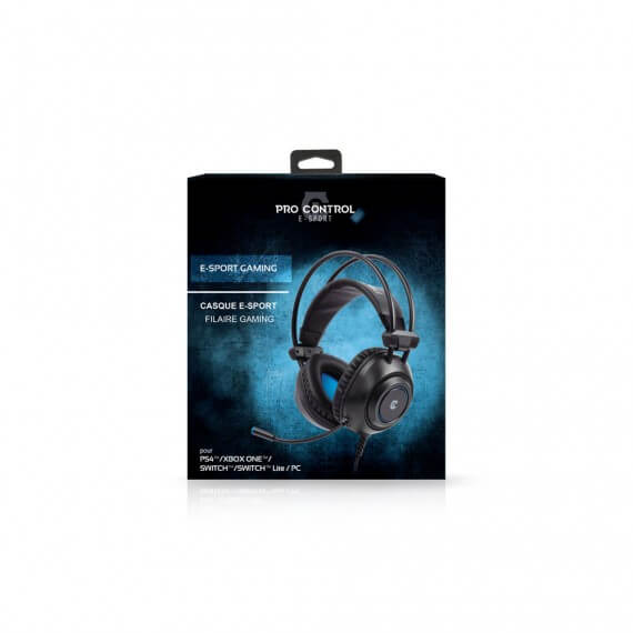 Casque filaire Pro Gaming PS4 /Xbox One/Switch/SwitchLite/PC