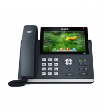 Téléphone IP Yealink SIP-T48S Noir