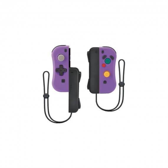 Manette Sans fil ii-con Violet GC Avec Dragonnes Compatible Switch