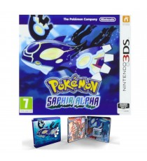 Pokémon Saphir Alpha + Steel Book Occasion [ Nintendo 3DS ]