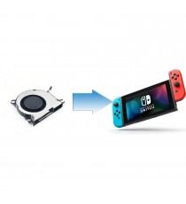 Changement Ventilateur Nintendo Switch