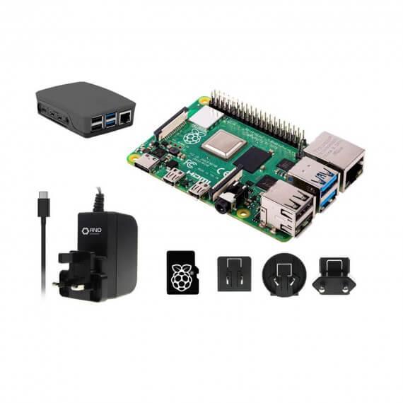 Raspberry Pi 4 Modèle B 4Go Ram 16GB Carte Micro SD