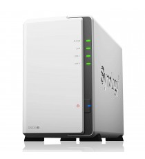 Serveur de Stockage NAS Synology DS220J + 2 X 2To HDD