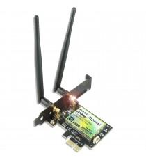 Carte Réseau Wi-FI 6.0 avec Bluetooth 5.1 PCI-E sans Fil 3000 Mbps