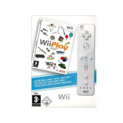 Wii Play + Télécommande Wii Blanche