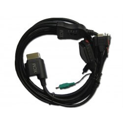 Cable XCM 5 Sorties pour XBOX 360