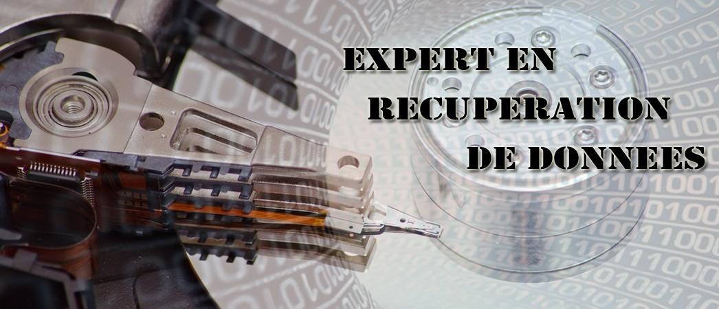EXPERT EN RECUPERATION DE DONNEES
