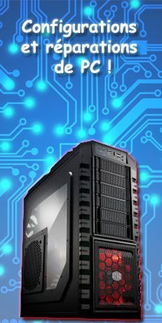 Réparation PC / Configuration Sur-Mesure